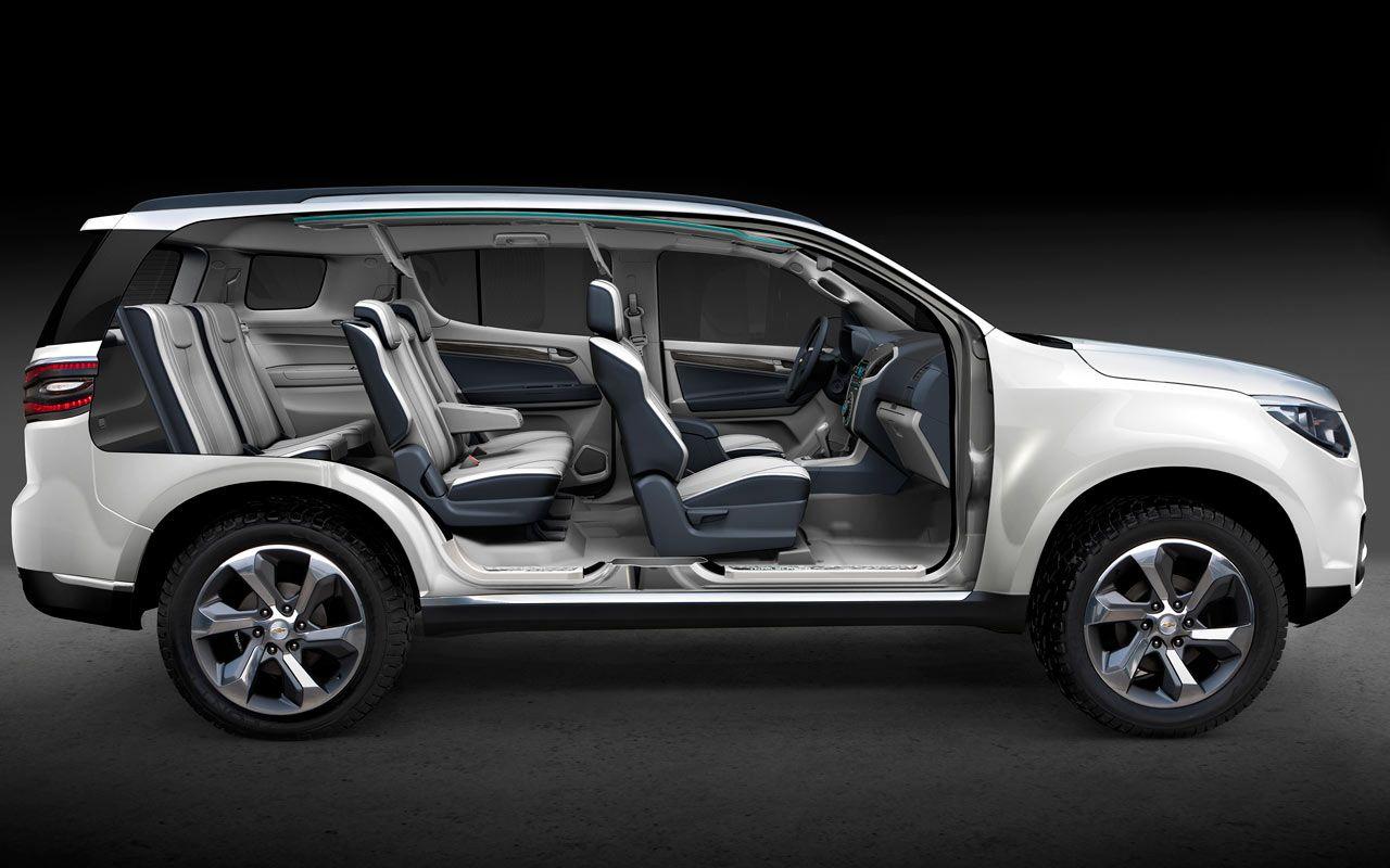 Chevy 2012 chevy trailblazer : Chevrolet revela la TrailBlazer, su nueva SUV | autos | Pinterest ...