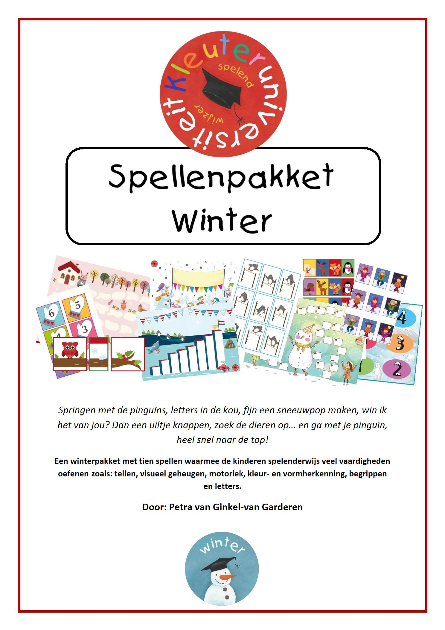 Spellenpakket Winter