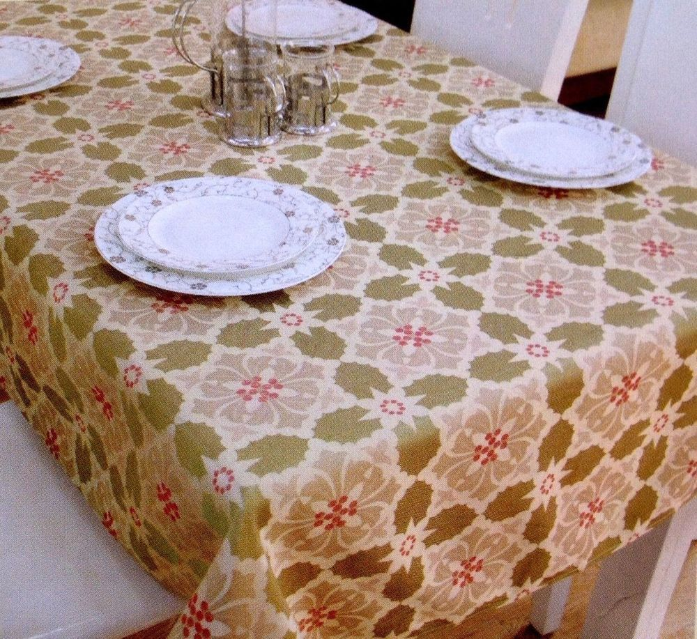 Weihnachtstischdecken Oval Assorted Sizes Jacquard Fabric Tablecloth Direct2home Multi Color