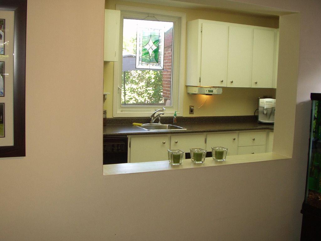 Kitchen Pass Through Window Shutters