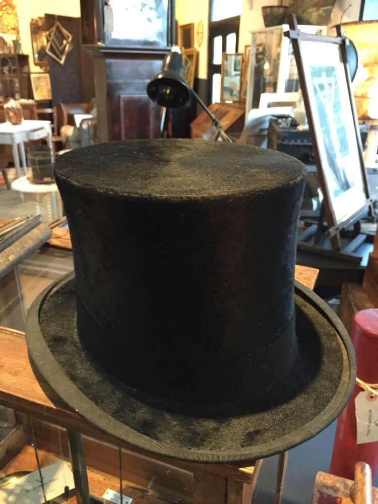 antique top hat Woodrow Manchester Size 7