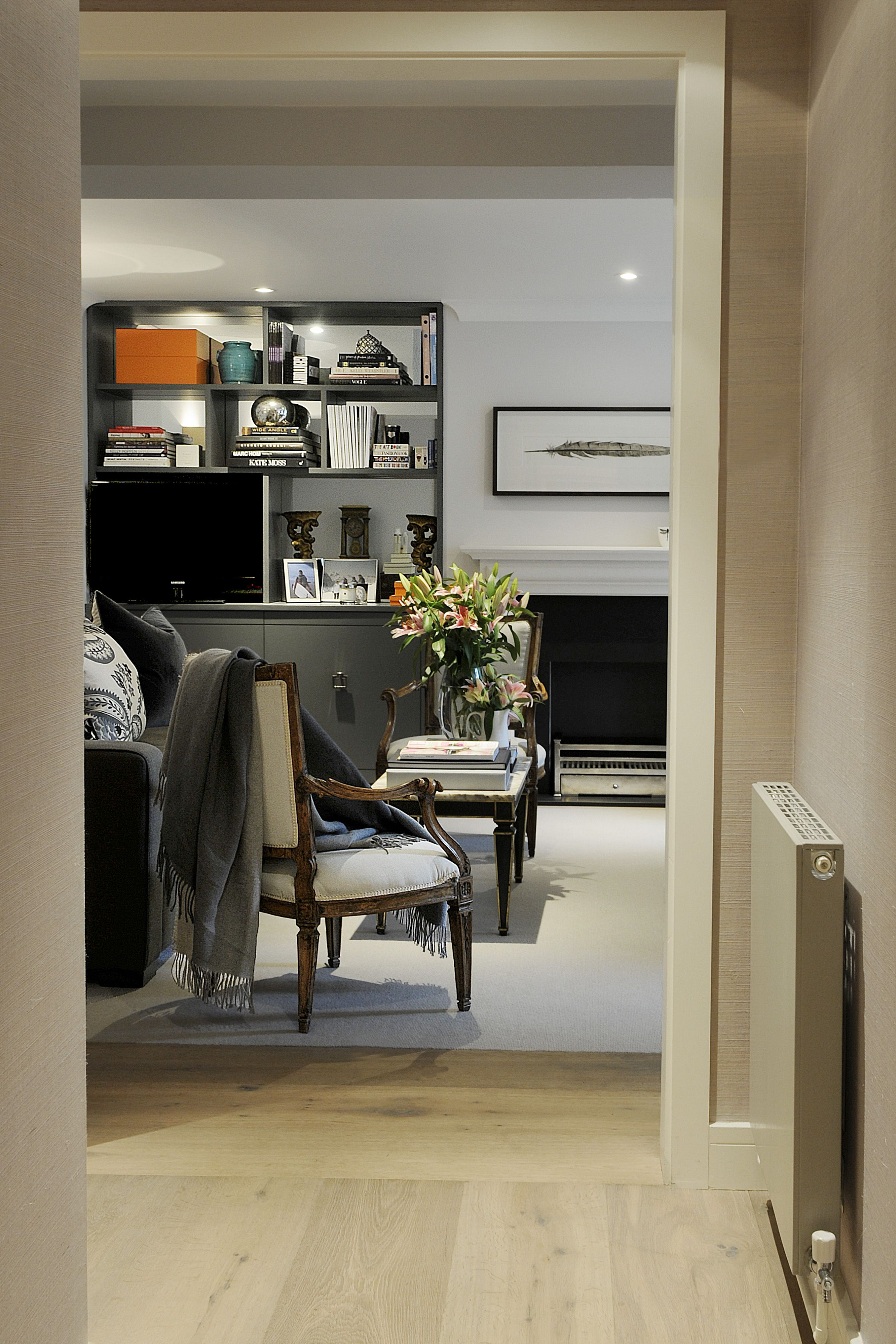 furniture for entrance hall. Entrance Hall Leading Into Reception Room. Fireplace And Joinery, Furniture For