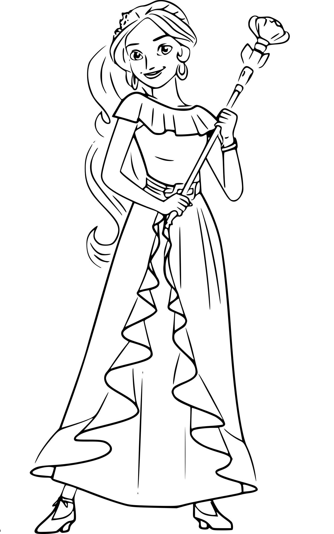 Elena Of Avalor Coloring Pages Best Coloring Pages For Kids Princess Coloring Pages Disney Coloring Pages Cartoon Coloring Pages