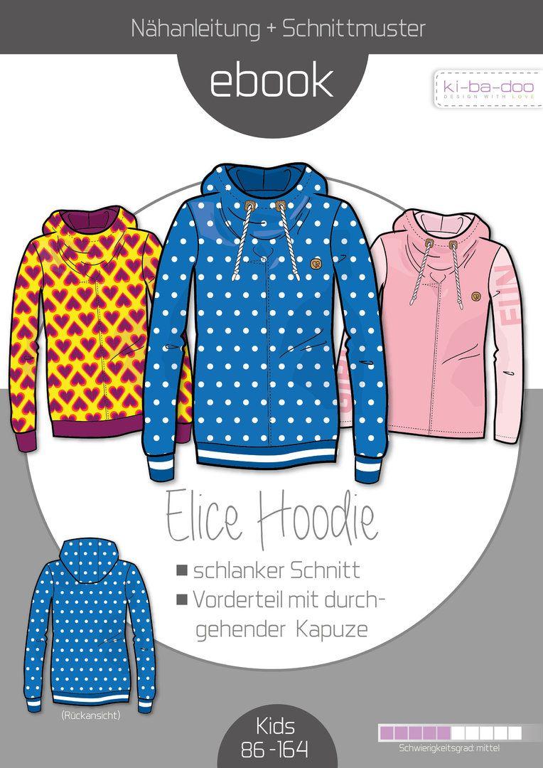 Family Ebook Hoodie Elice_MAelice_PAelias - Schnittmuster und ...