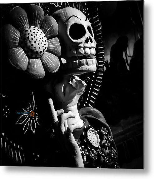 Lavanidaddelamortis Metal Print By Hugo Eloy Tao ...