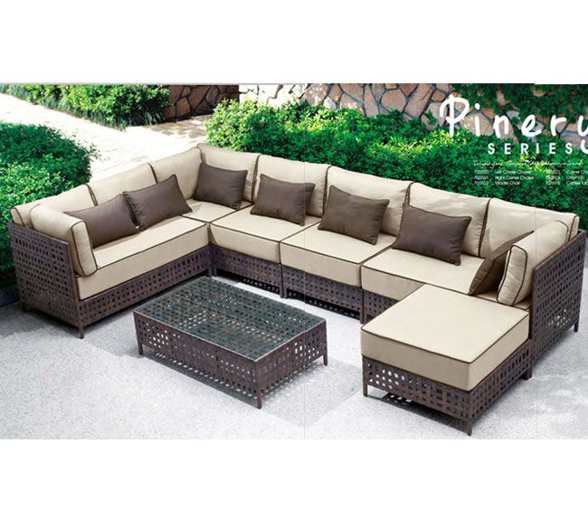 Zuo Modern Pinery Outdoor Sectional Collection 2000 - Zuo Modern Pinery Outdoor Sectional Collection 2000 Outdoor