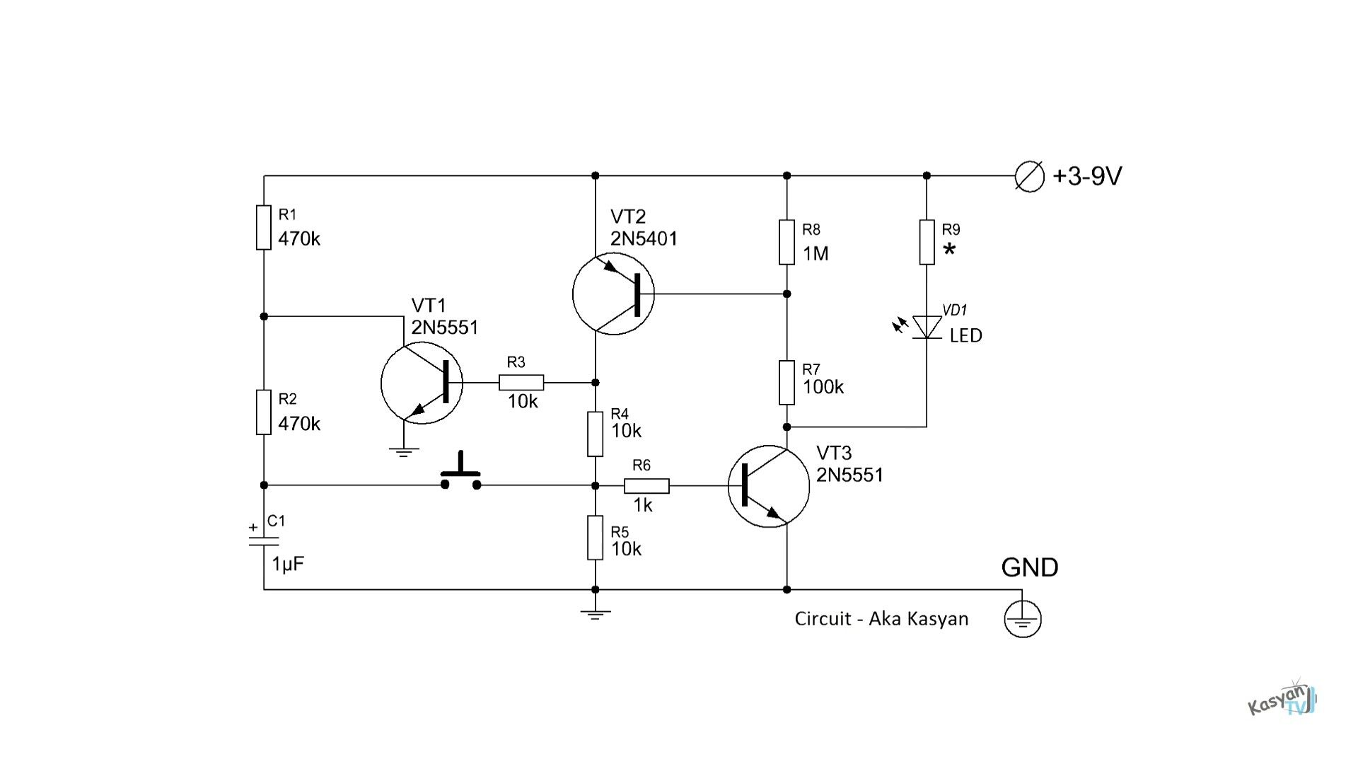 medium resolution of simple electronic on off switch