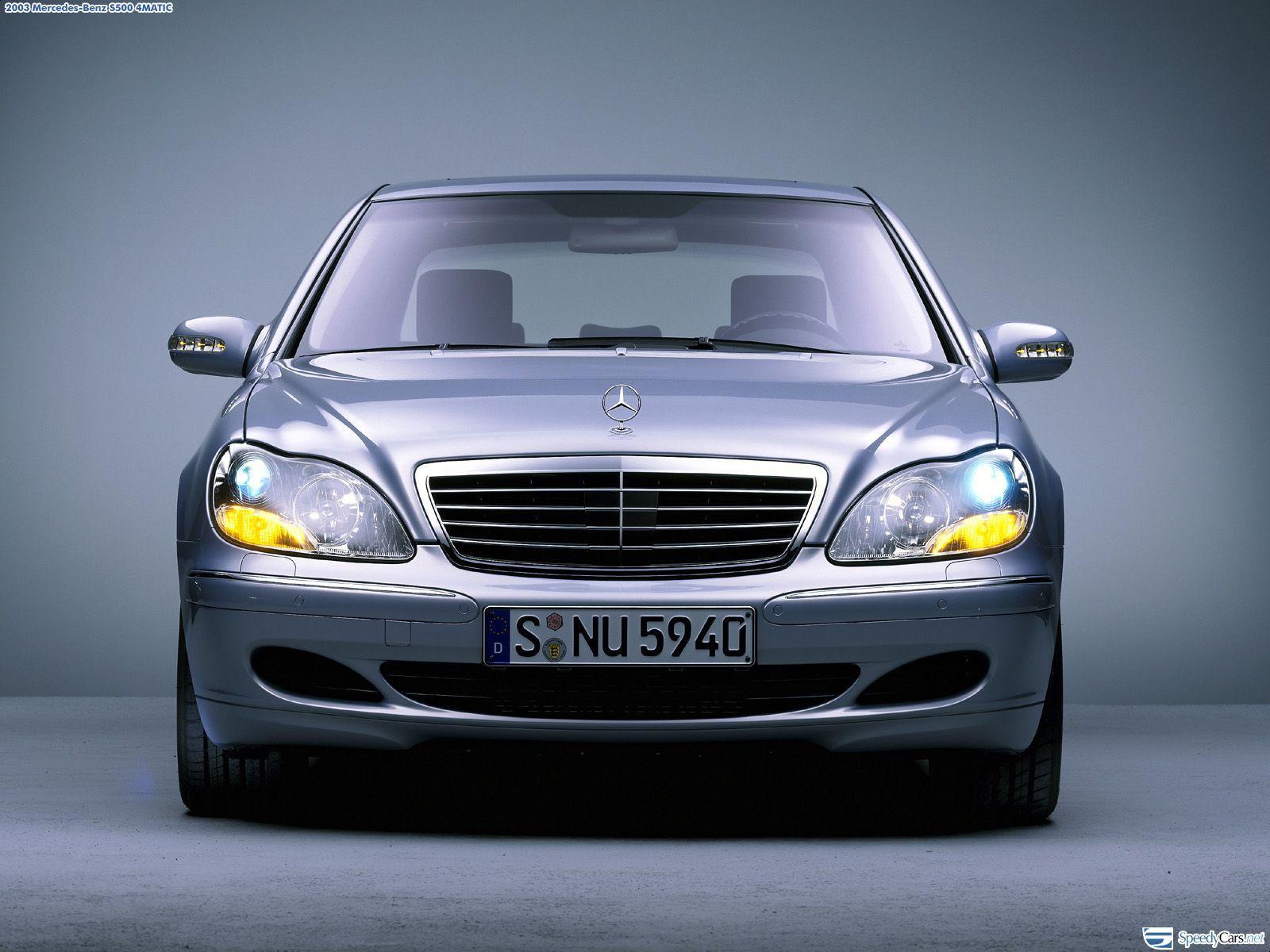 2003 Mercedes Benz S500 4matic W220