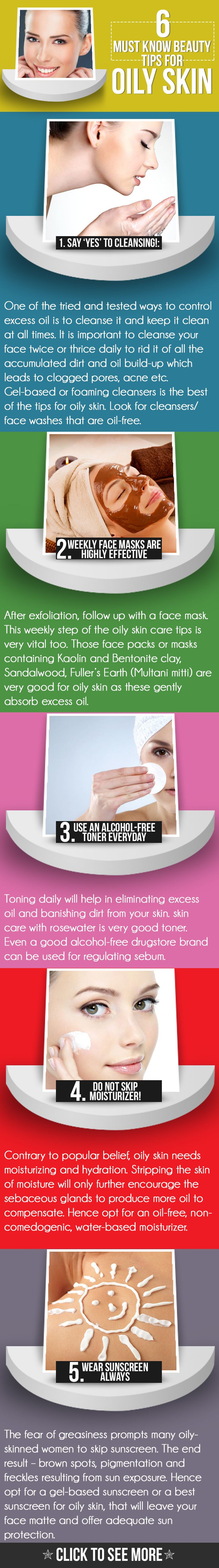 6 Must Know Beauty Tips for Oily Skin 6 Must Know Beauty Tips for Oily Skin new foto