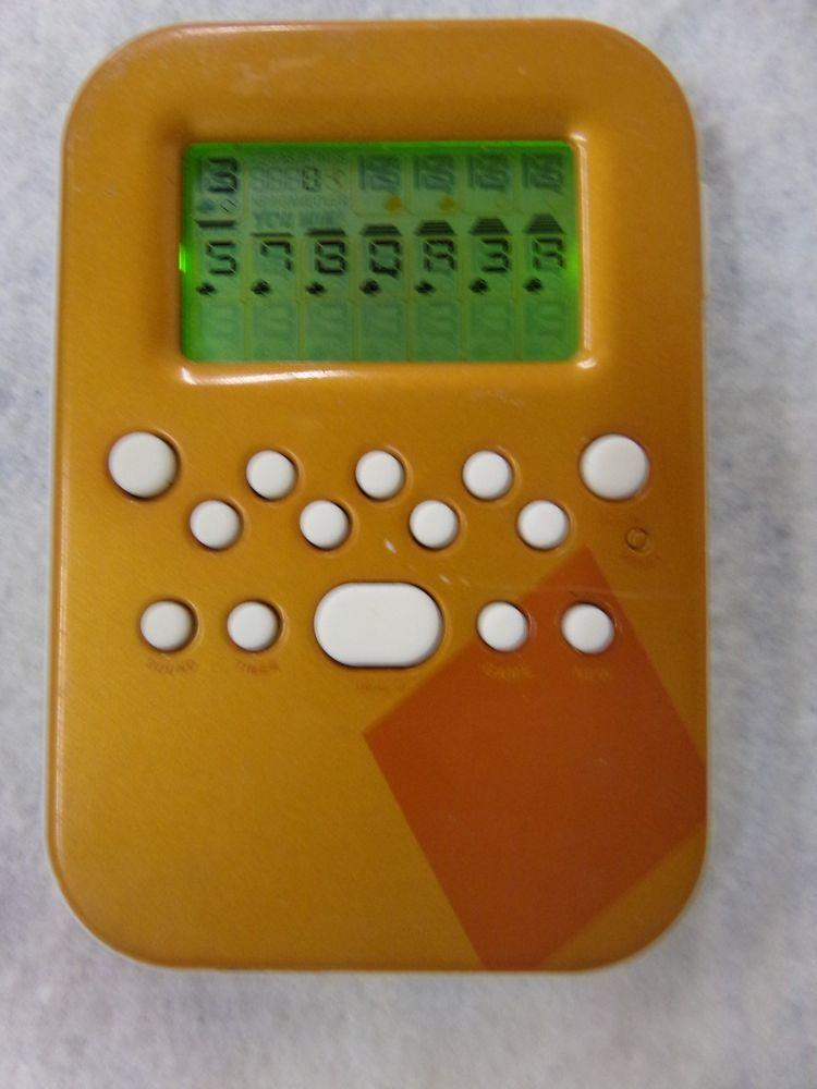 RADICA Illuminated Lighted SOLITAIRE Electronic Rare Handheld 2008 Game TESTED #Radica #handheldgames #eBay