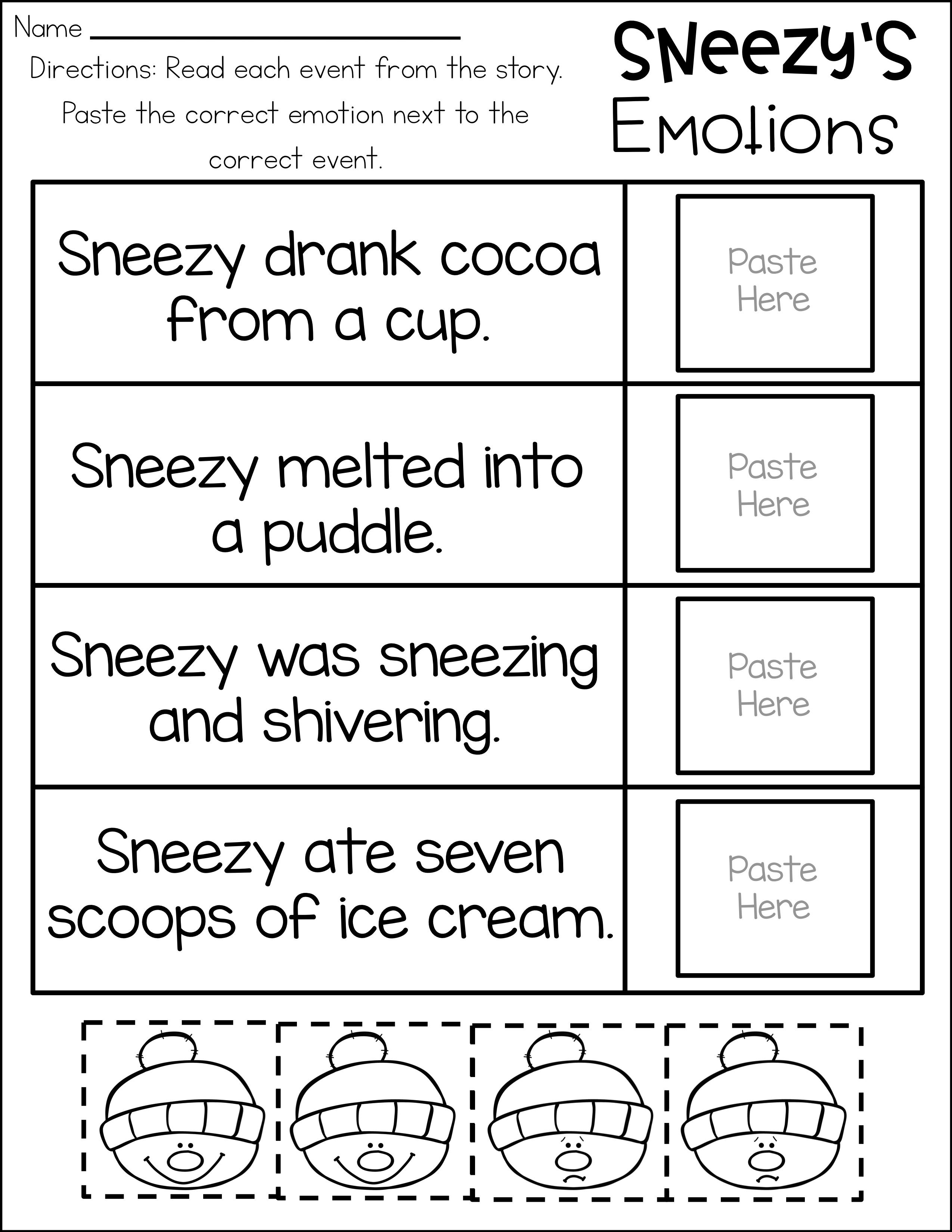 Sneezy The Snowman Sneezy The Snowman How To Build A Snowman Writing Vocabulary Cards [ 3299 x 2549 Pixel ]