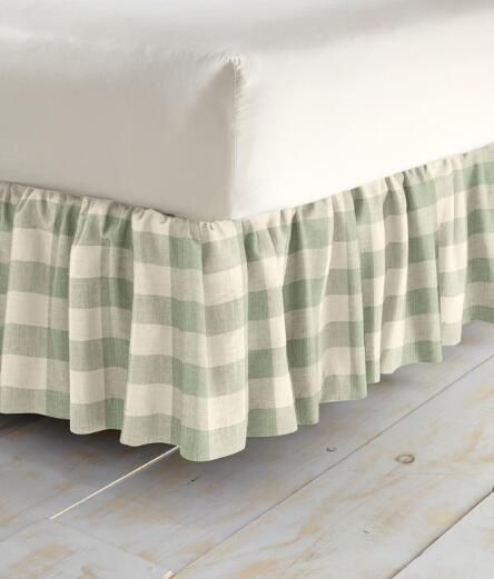 This Farmhouse Inspired Gingham Dorm Room Bedding Set Screams Fixer Upper Style We Love The