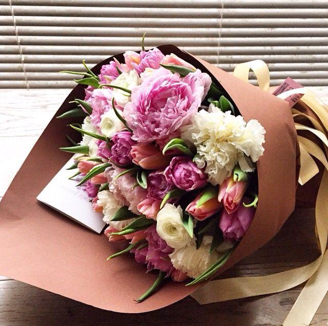 Bunch of flower에 있는 Eliana Maia님의 핀 | 꽃다발, 꽃다발 포장 ...