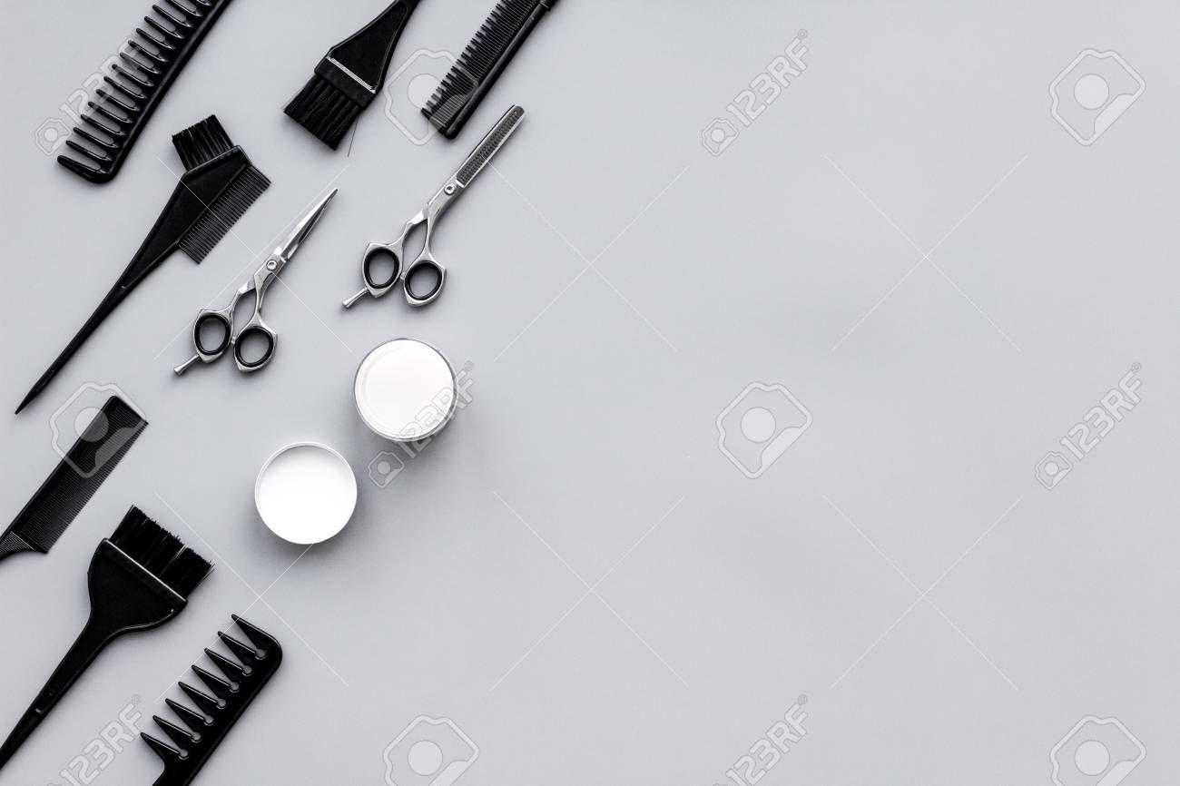Beauty Saloon Equipment Hairdress And Haircut Combs Sciccors Beauty Saloon Beauty Salon Decor Saloon