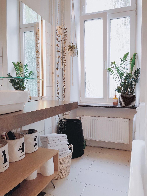 Unser Kleines Urbanjungle Badezimmer Couchstyle Urbanjungle Badezimmer Altbau Wohnen Interior Pflanzen Badezimmer Altbau Badezimmer Wohnen Zimmer