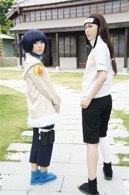 HuHu(瑚瑚) Hinata Hyuga, hyuga Lunin(日向流人) Negi Hyuga Cosplay Photo