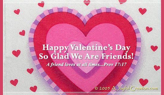 Free Valentine - Friend eCard - eMail Free Personalized Valentine\u0027s