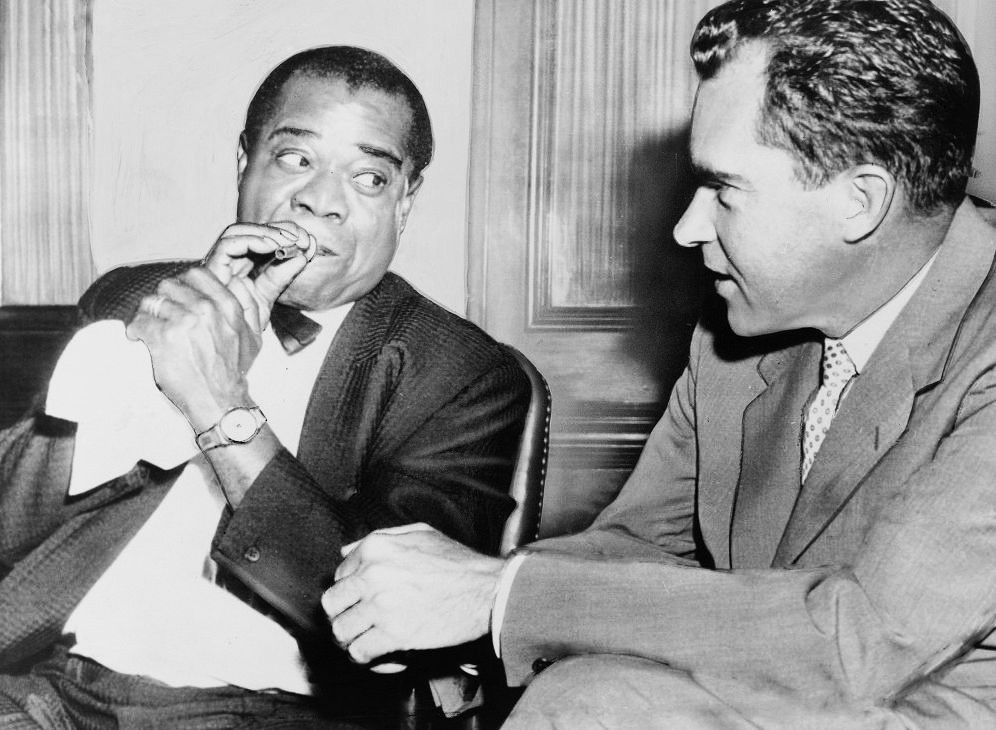I Ve Earned Everything I Ve Got Louis Armstrong Nixon Richard Nixon
