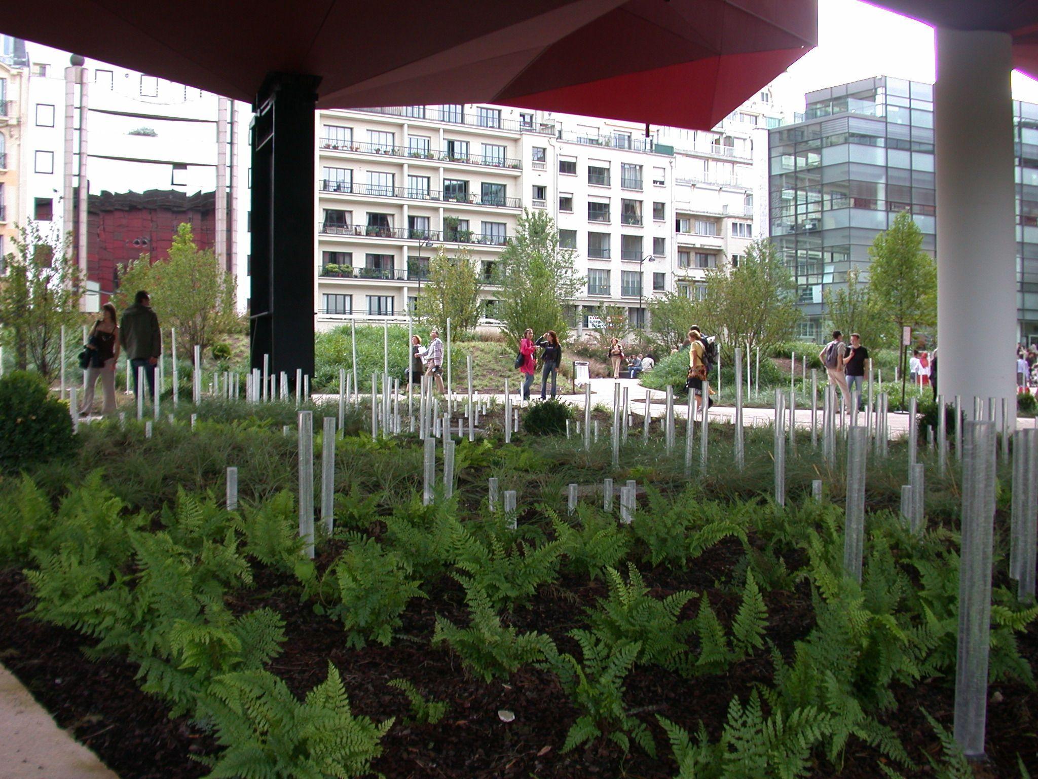 Jardin du quai branly g cl ment 2006 gr ce la for Exterieur quai le bouillon de l est