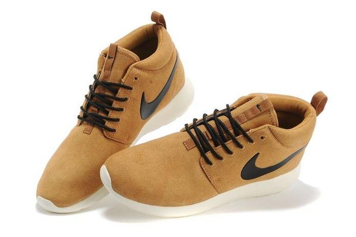 sale retailer 2a3a9 c2f00 Nike Roshe Run High Cut Coffee