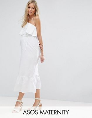 f13bcdf6817b0 ASOS Maternity Maxi Dress with One Shoulder. ASOS Maternity Maxi Dress with  One Shoulder 6 Months Pregnant ...