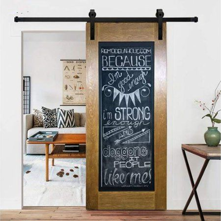 10 Feet Arrow Style Sliding Barn Door Hardware Barn Wood Door Track Wheel Kit Sliding Wood Barn Door Hardware Track Kit Set In 2019 Wood Barn Door Sliding Barn Door Track