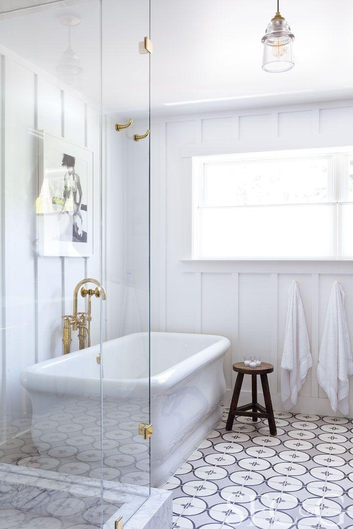 Tour A Historic Church Transformed Into A Cozy Family Home Bathroom Inspiration Bathrooms Remodel Bathroom Design