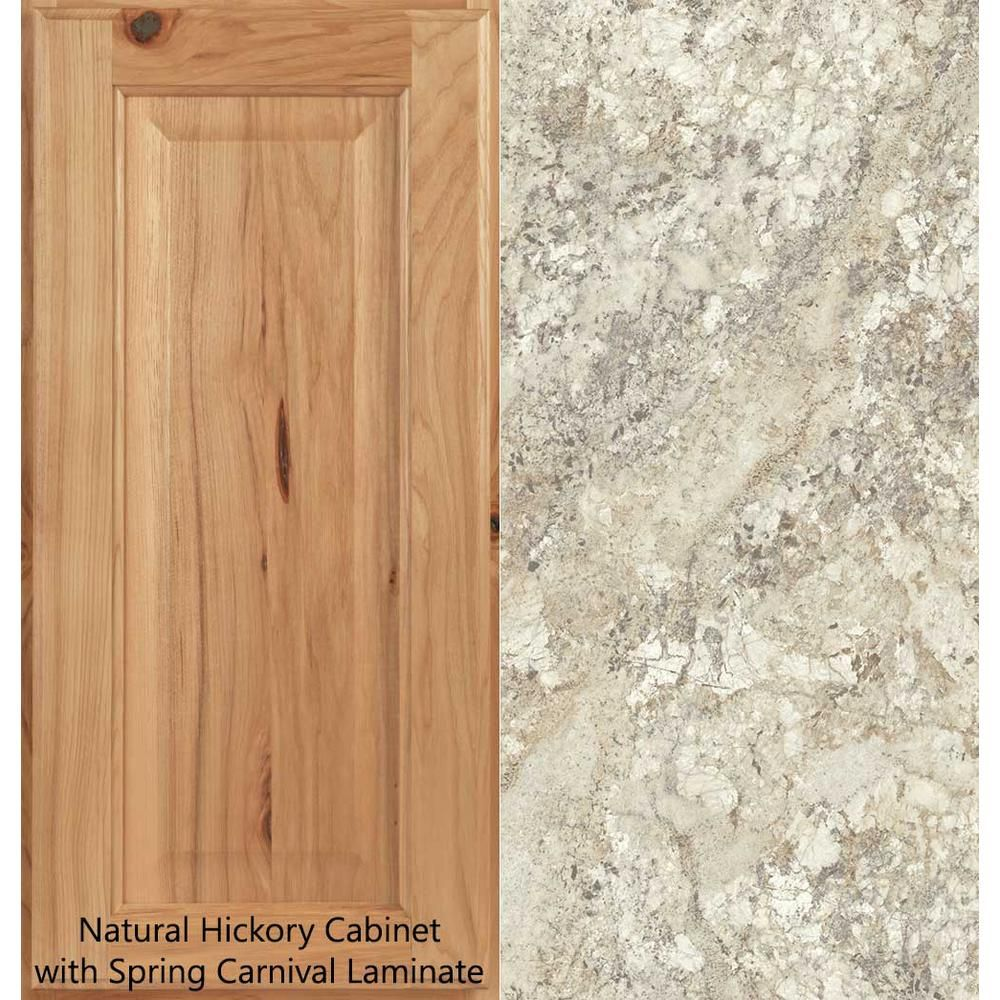 Hampton Bay 8 Ft Laminate Countertop Kit In Spring Carnival Granite With Valencia Edge 12337kt08n1876 Laminate Countertops Glass Countertops Countertops