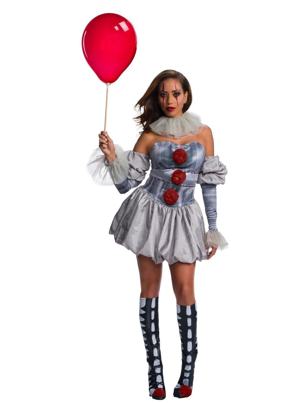 It Female Deluxe Pennywise Costume Pennywise halloween