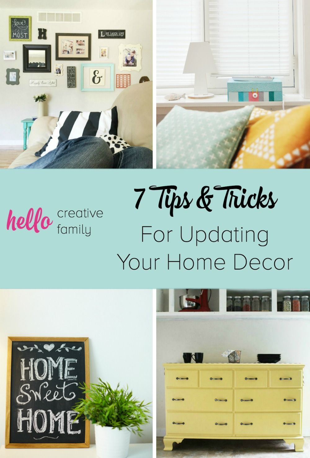 Home decorating Tips | 7 Tips and Tricks for Updating Your Home Decor in the New & Home decorating Tips | 7 Tips and Tricks for Updating Your Home ...