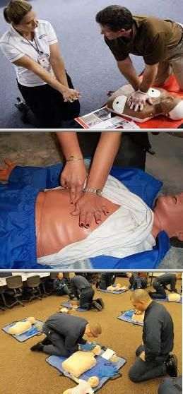 This company provides CPR, first aid and AED lessons and