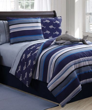 Take A Look At This Shark Full Comforter Set By Victoria Classics On  #zulily Today