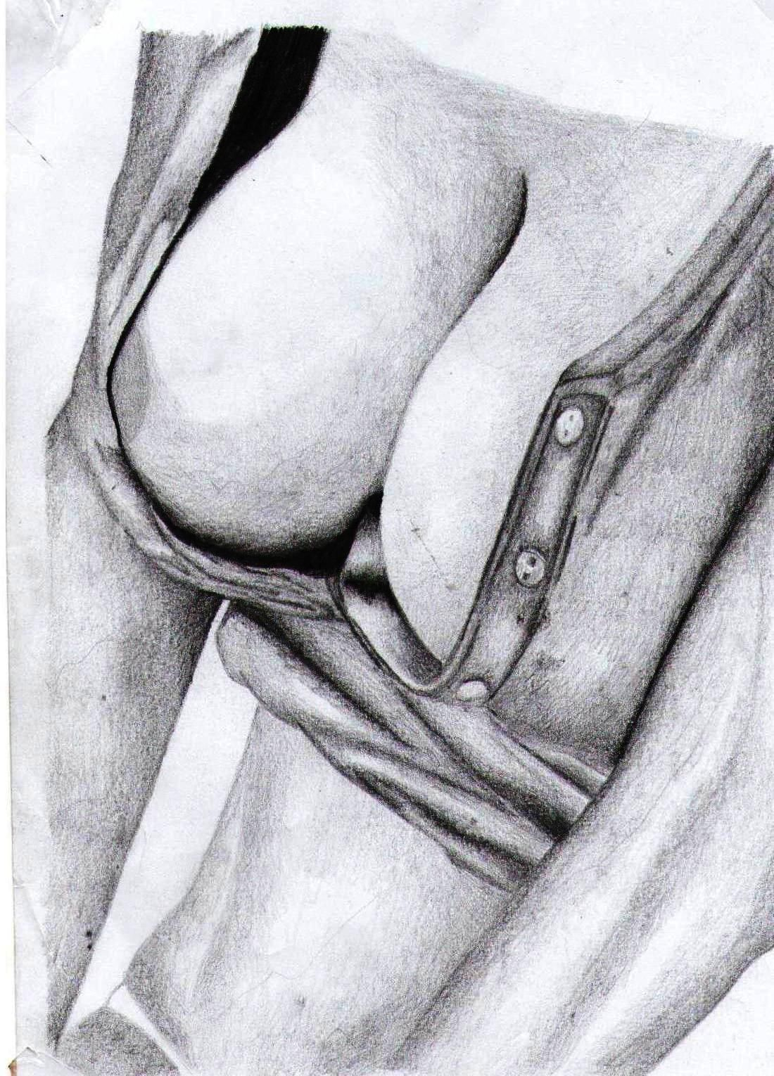 boob drawing