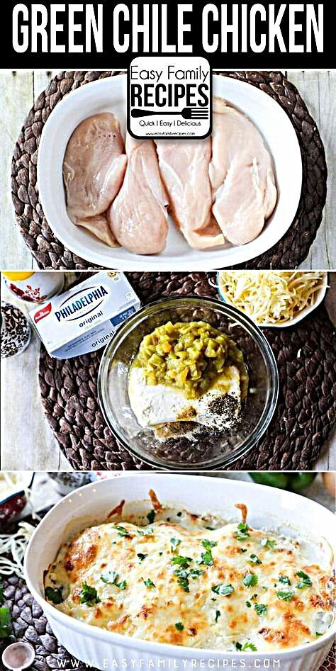 {BEST EVER} Keto Green Chile Chicken · Easy Family Recipes