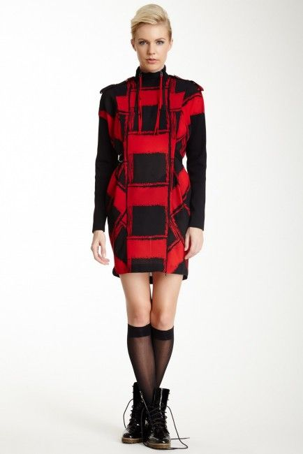 L.A.M.B. | Block Knit Tunic Sweater Dress | Shop!, Tunics and Dresses.