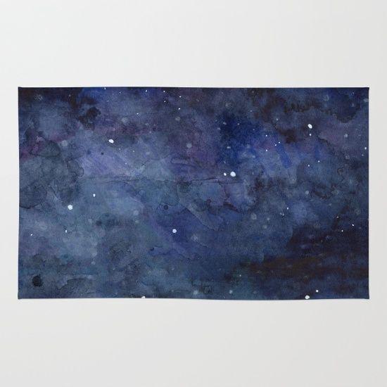 Vloerkleed rug space Galaxy