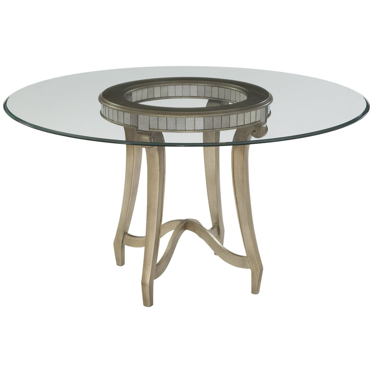bassett mirror dining table. Bassett Mirror Hollywood Glam Celine Dining Table 2900-700-095EC C
