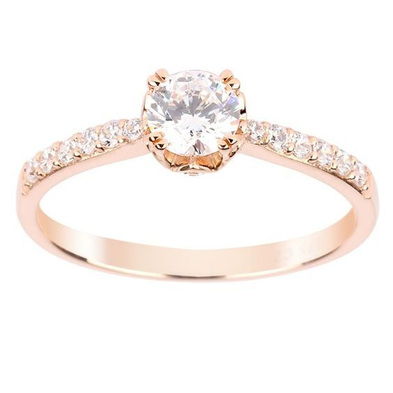 Perfect Temporary Engagement Rings To Propose With Rose Gold Placeholder Ring
