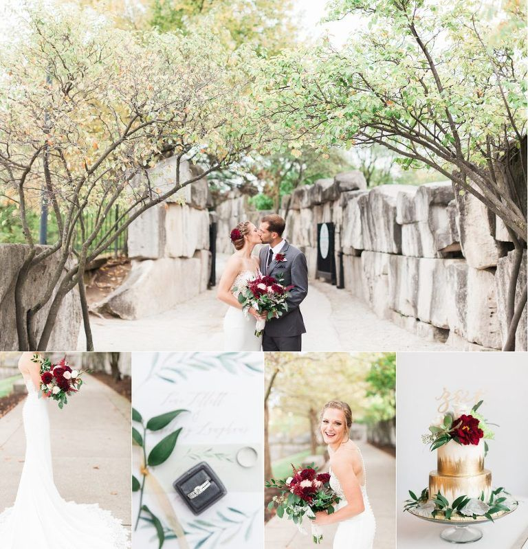 Fall Wedding Colors. Joni Bilderback Photography | Indiana Historical Society Wedding on the Terrace | Fall Indiana Wedding | Indianapolis Wedding Photographer