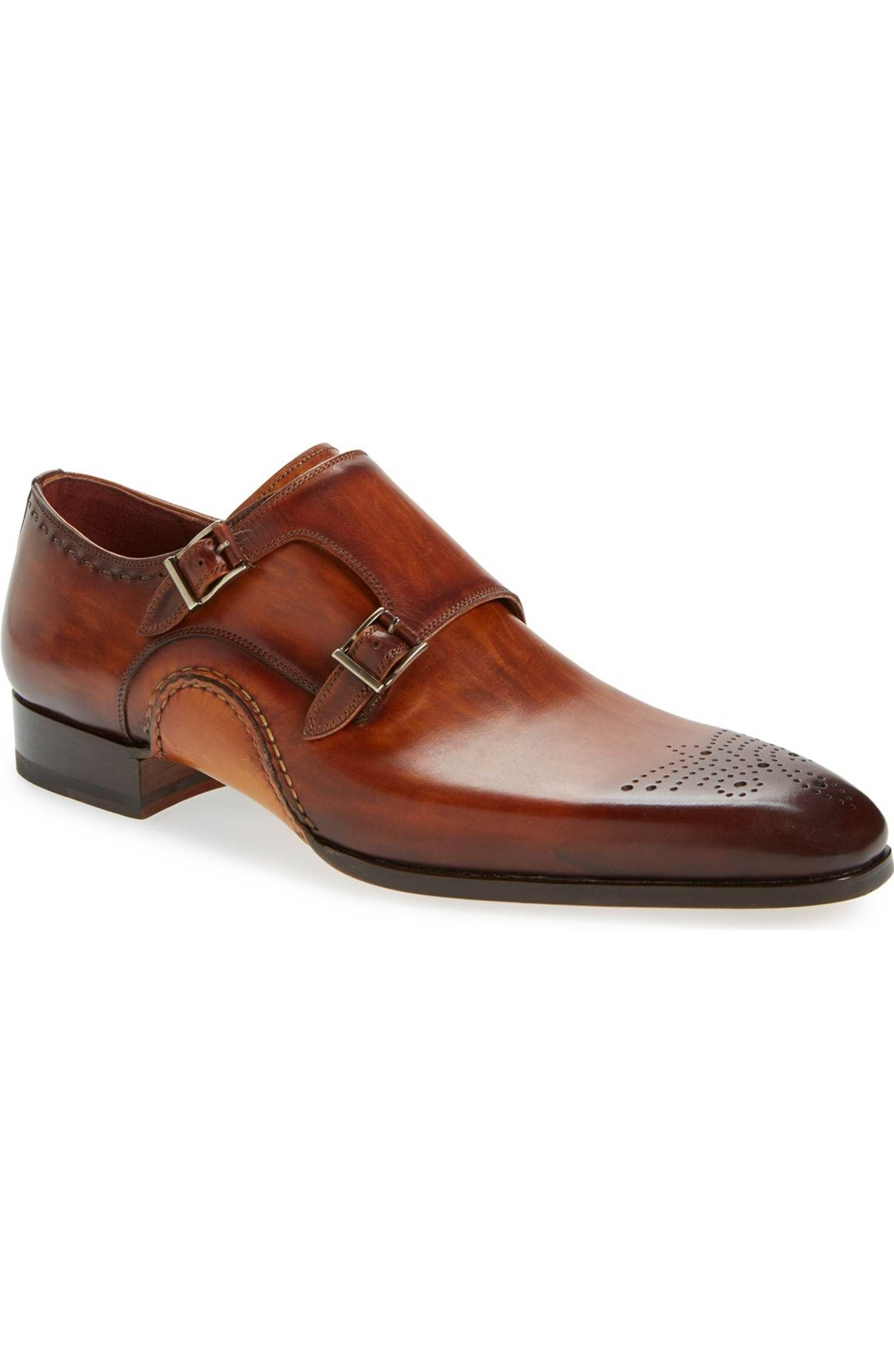 Main Image - Magnanni 'Apolo' Double Monk Strap Shoe (Men)