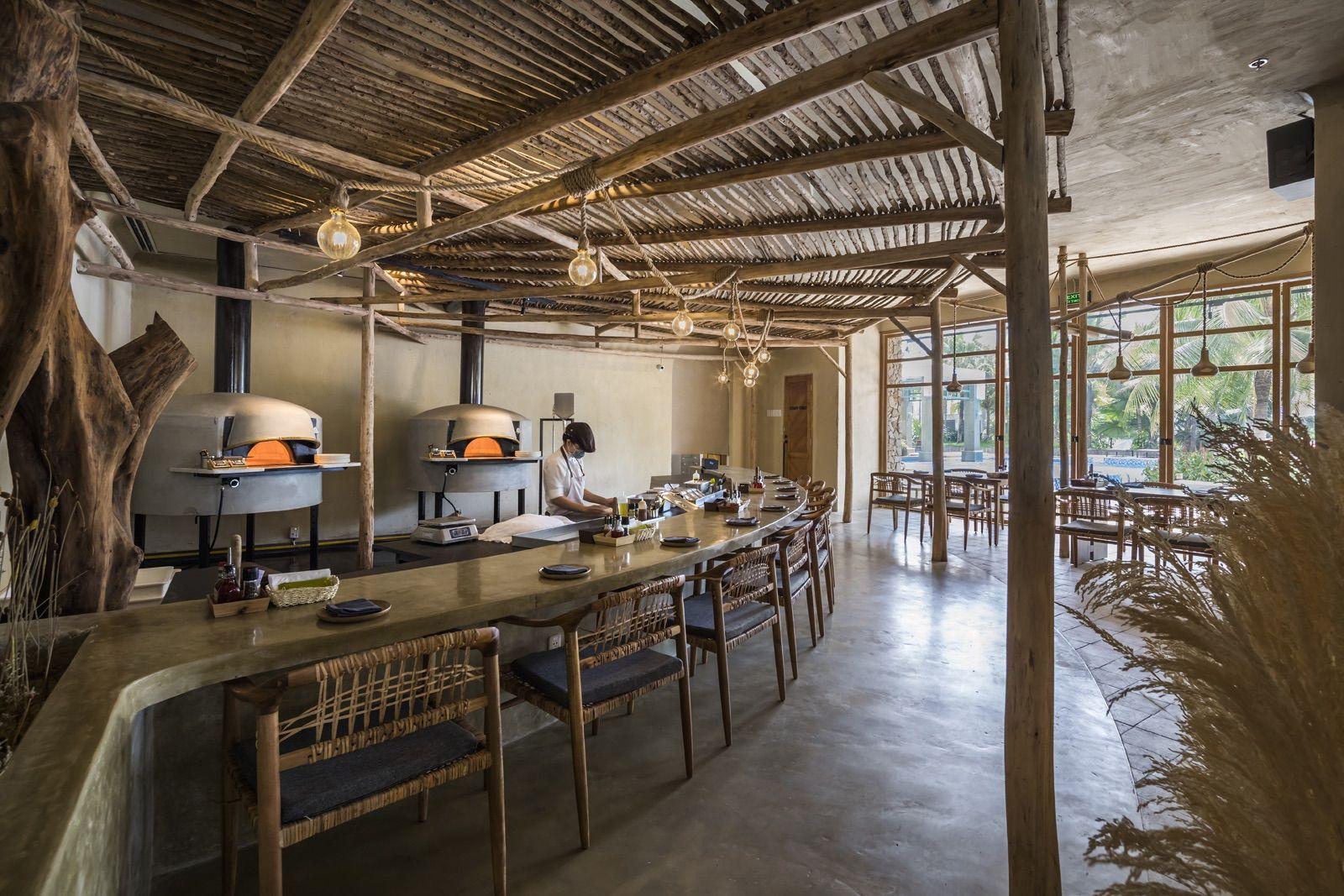 Pizza Oven Area In 2020 Restaurant Saigon Vietnam