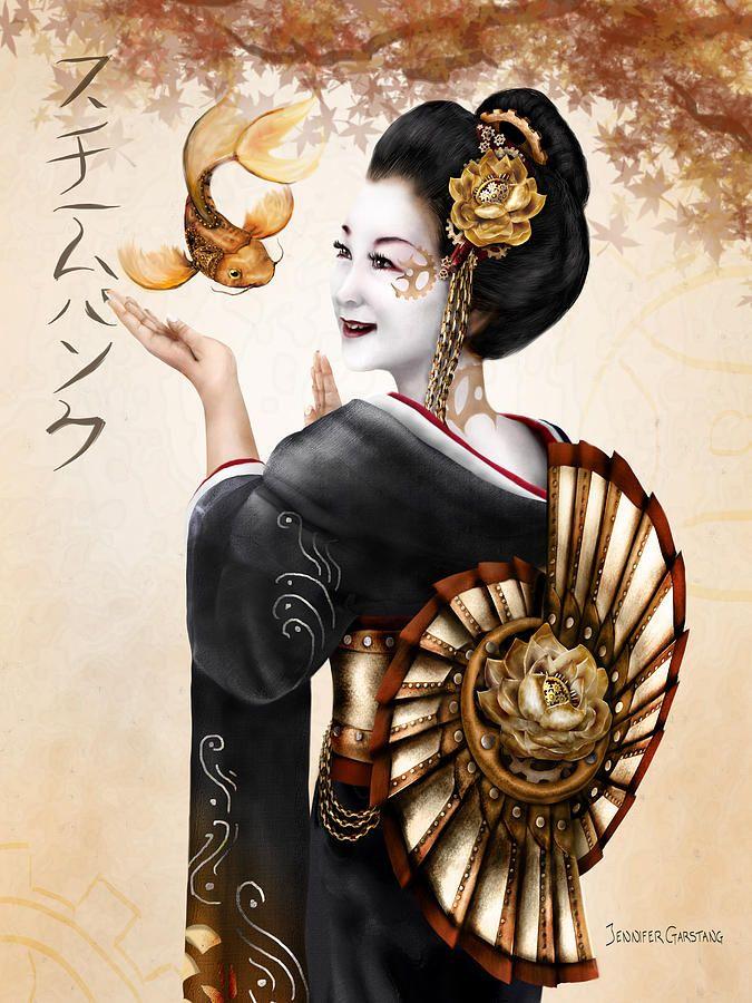 steampunk geisha girls - Google Search
