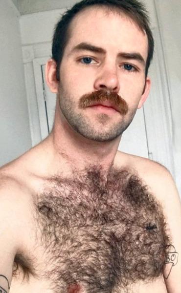 gay Hairy men masculine