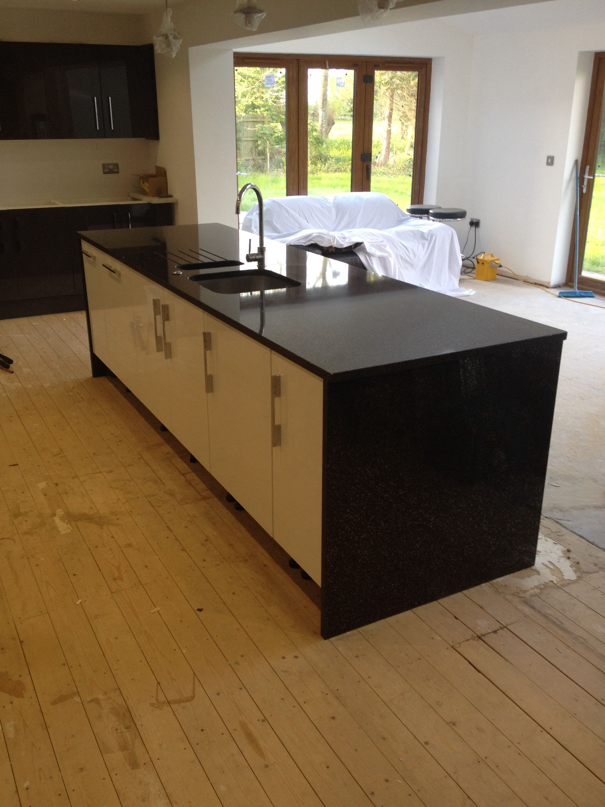 Great looking Granite island kitchen for client in North