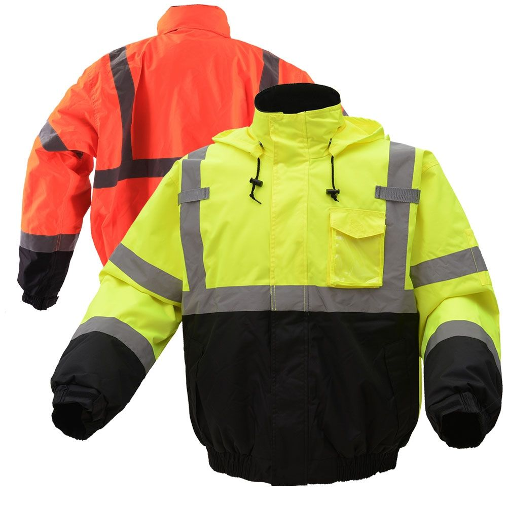 Gss Safety 8001 8002 Class 3 Hivis Thermal Safety Bomber Jacket Bomber Jacket Jackets Waterproof Jacket