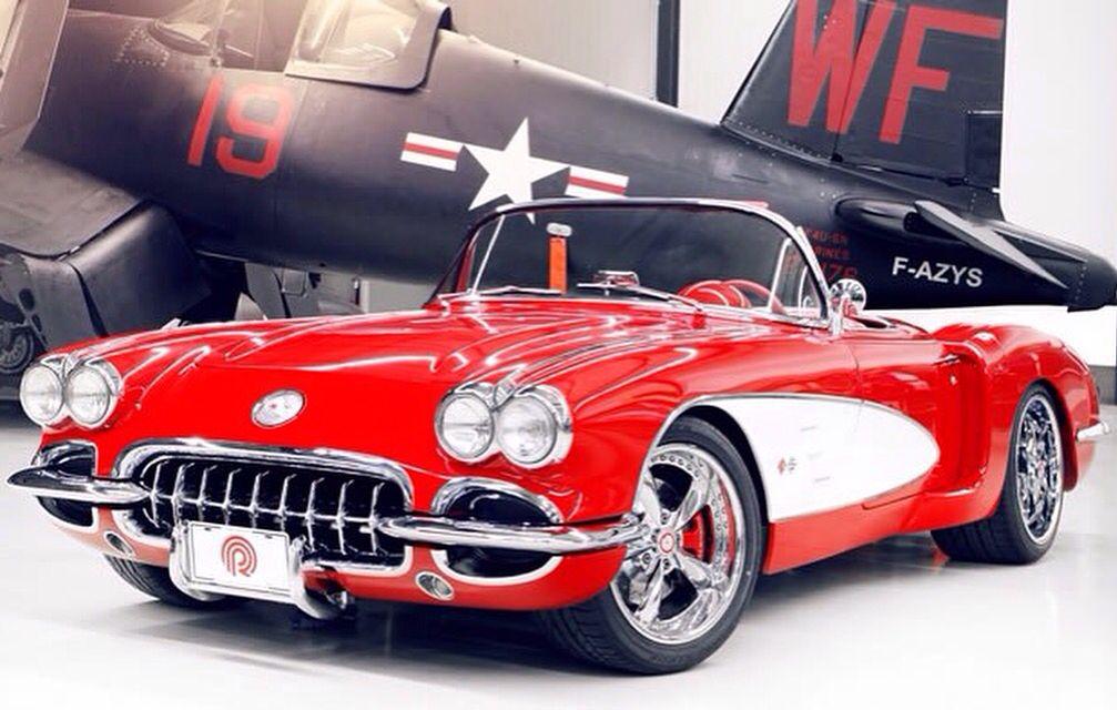 Chevrolet Corvette C1 1960 Classic cars, Corvette