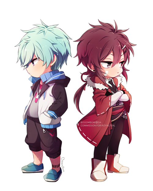 Commission For Thank You Amp Lt 33 Cute Anime Chibi Chibi Chibi Characters