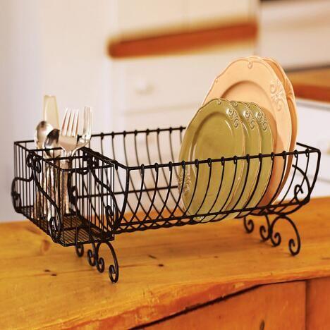 Escurridores de platos en hierro buscar con google - Rack para platos ...