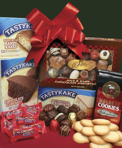 Philadelphia Gift Baskets - Philly Tower of Treats #tastykakes ...