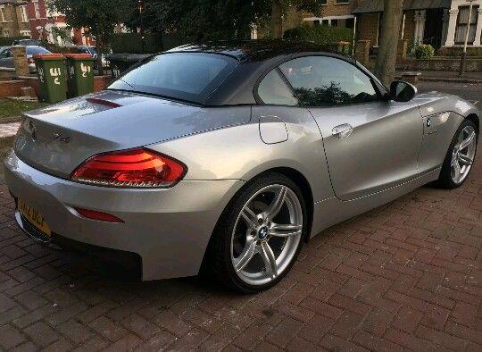 Silver With Black Roof Bmw Bmw Z4 Bmw Cars